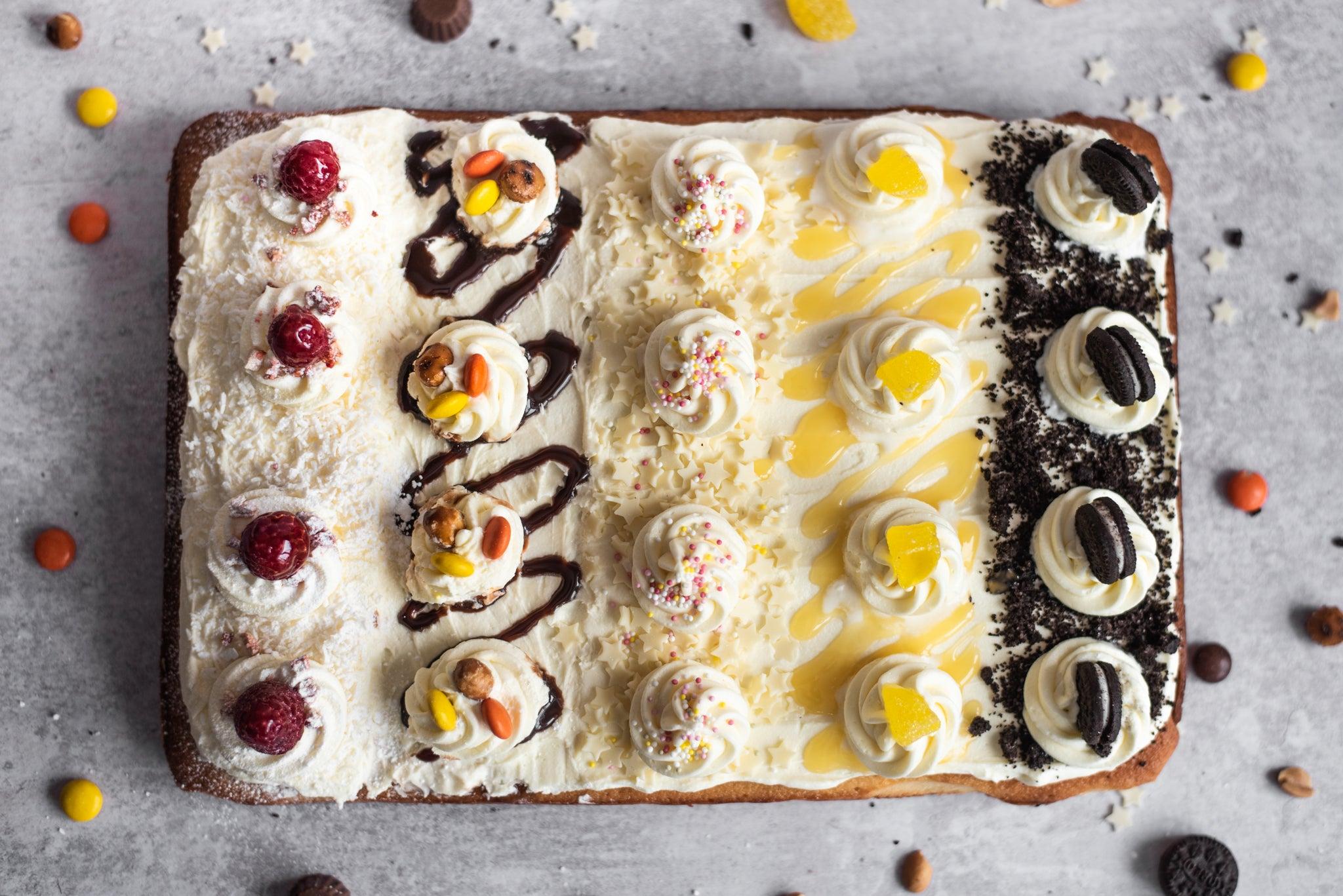 Party Tray Bake