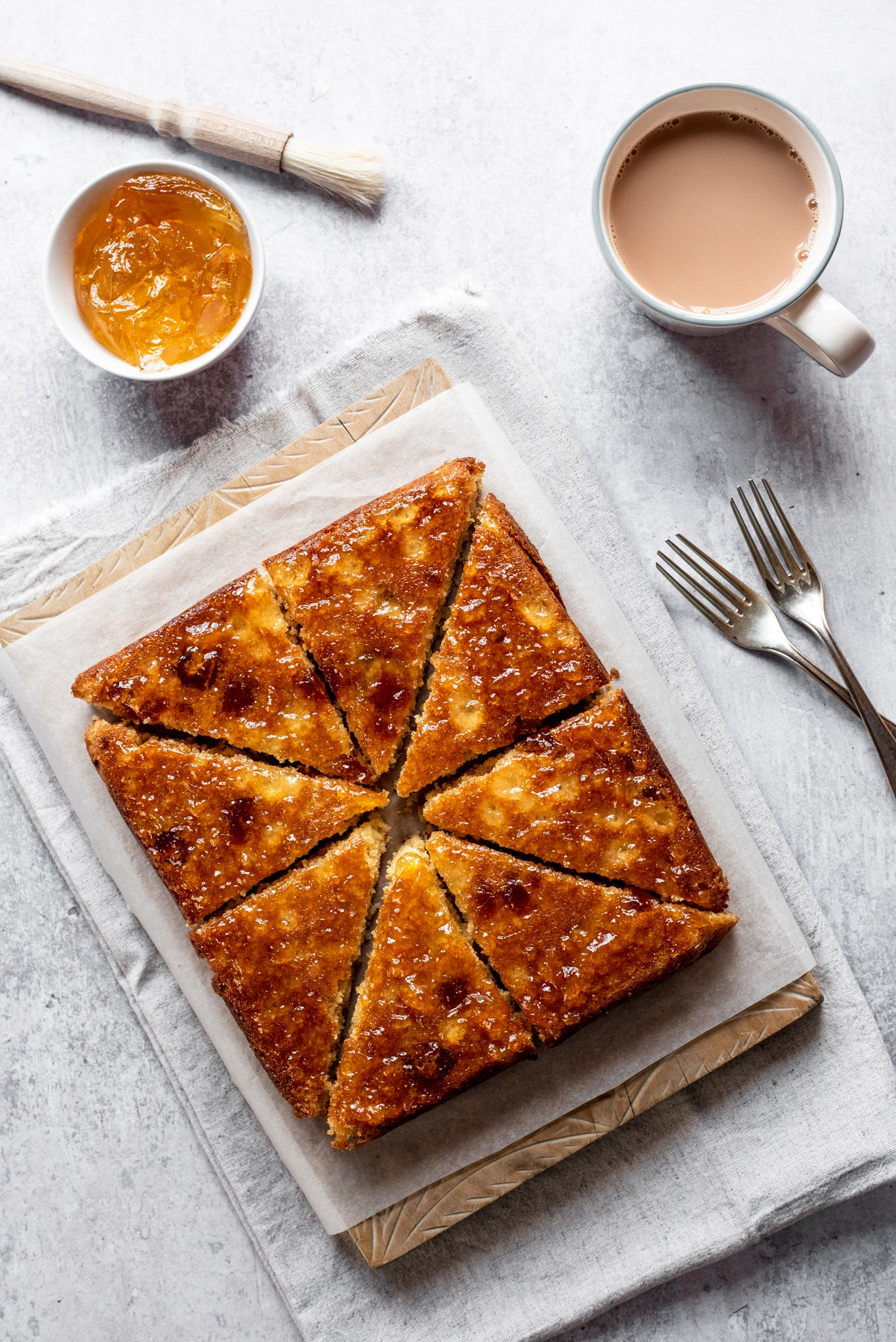 Tangy marmalade cake