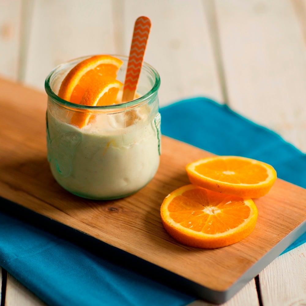 Orange Cointreau Ice Cream