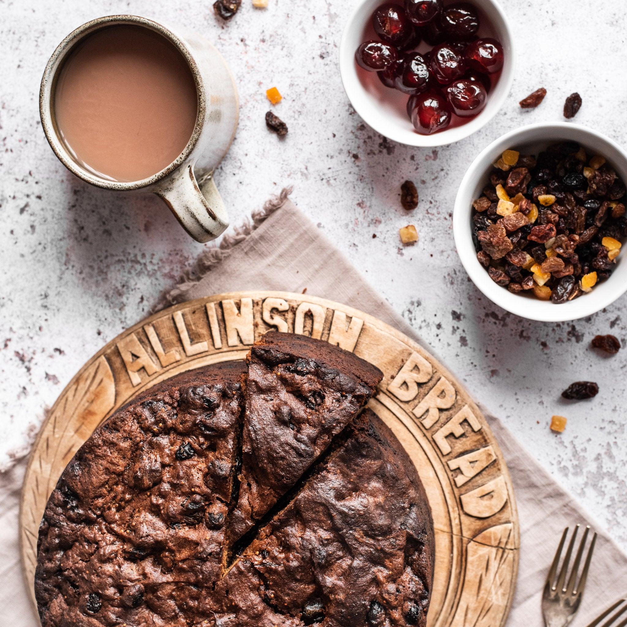 Gluten Free Rich Fruit Cake