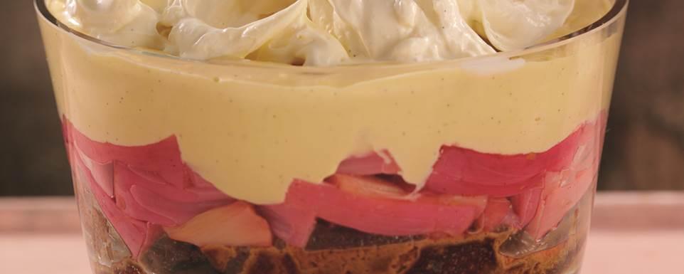 Nielsen-Massey Vanilla, Rhubarb & Ginger Trifle