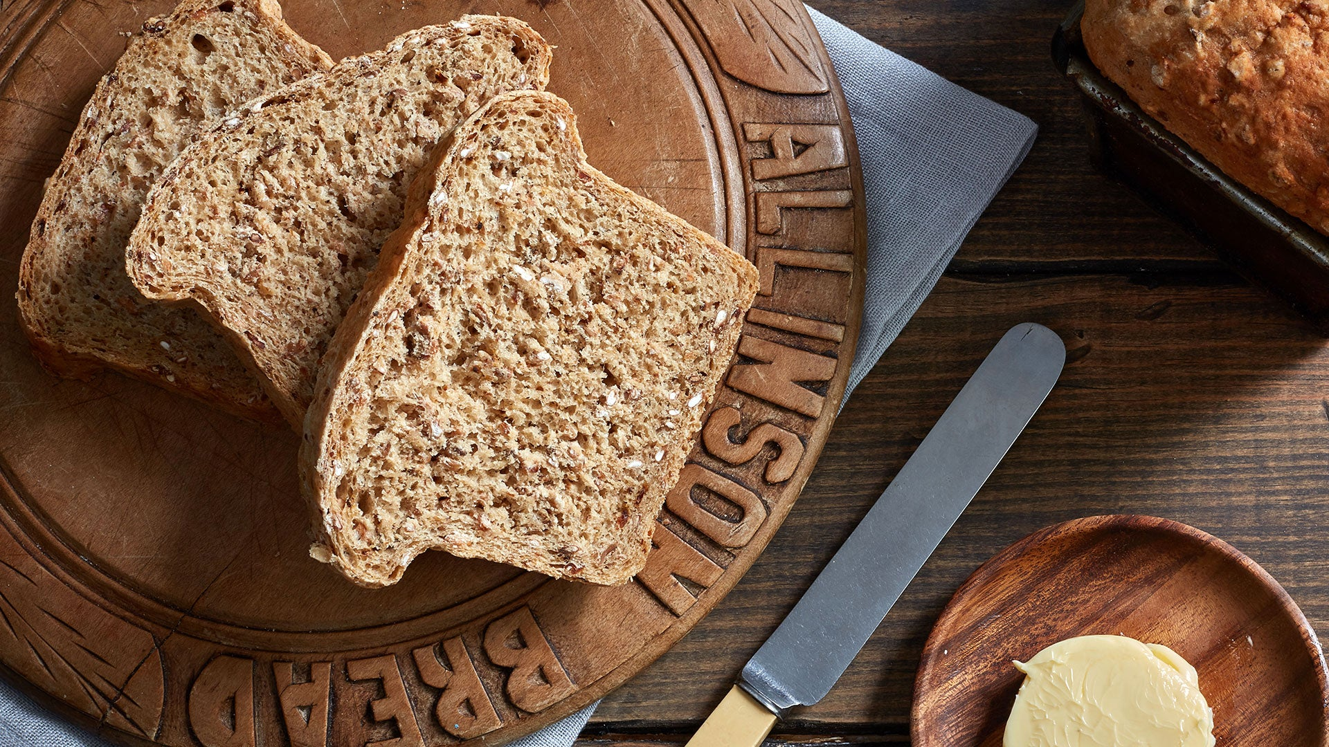 Malted Brown Bread