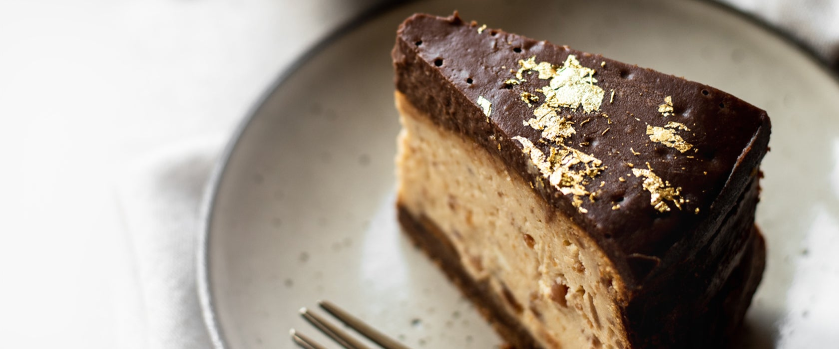 Peanut Butter Baked Cheesecake