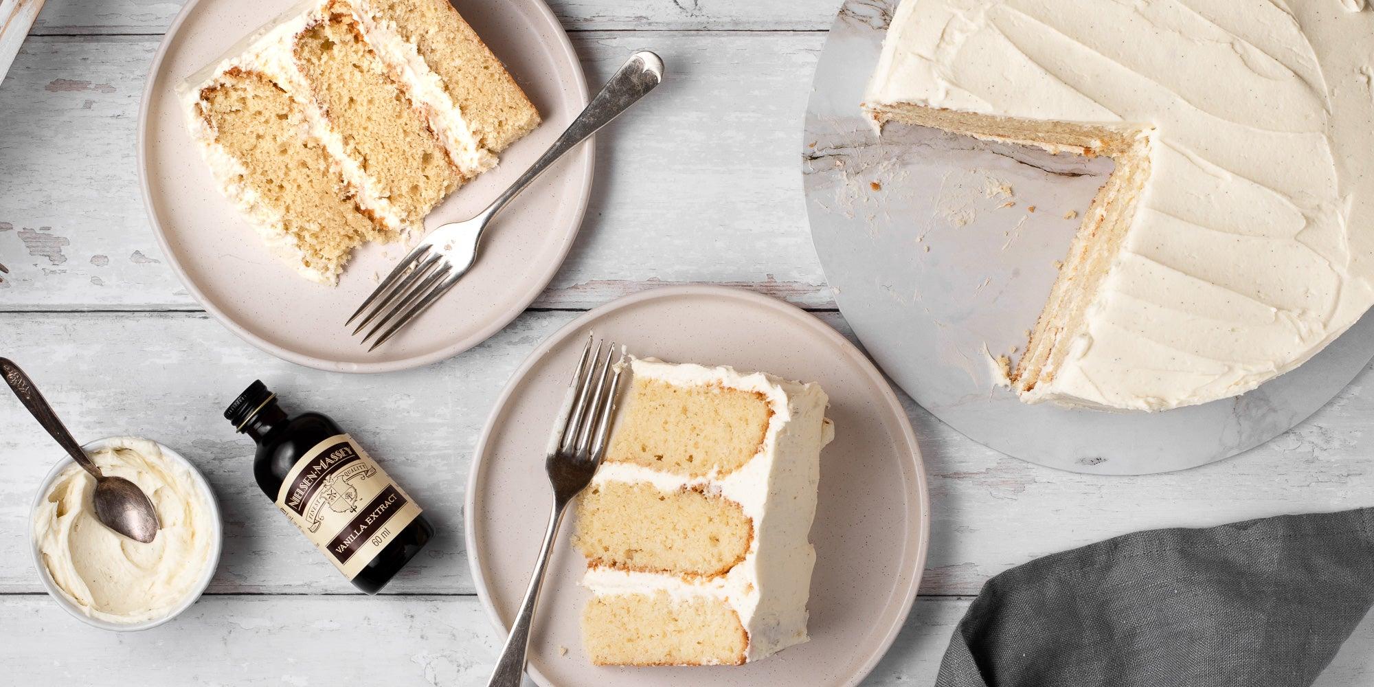 Easy Vanilla Cake