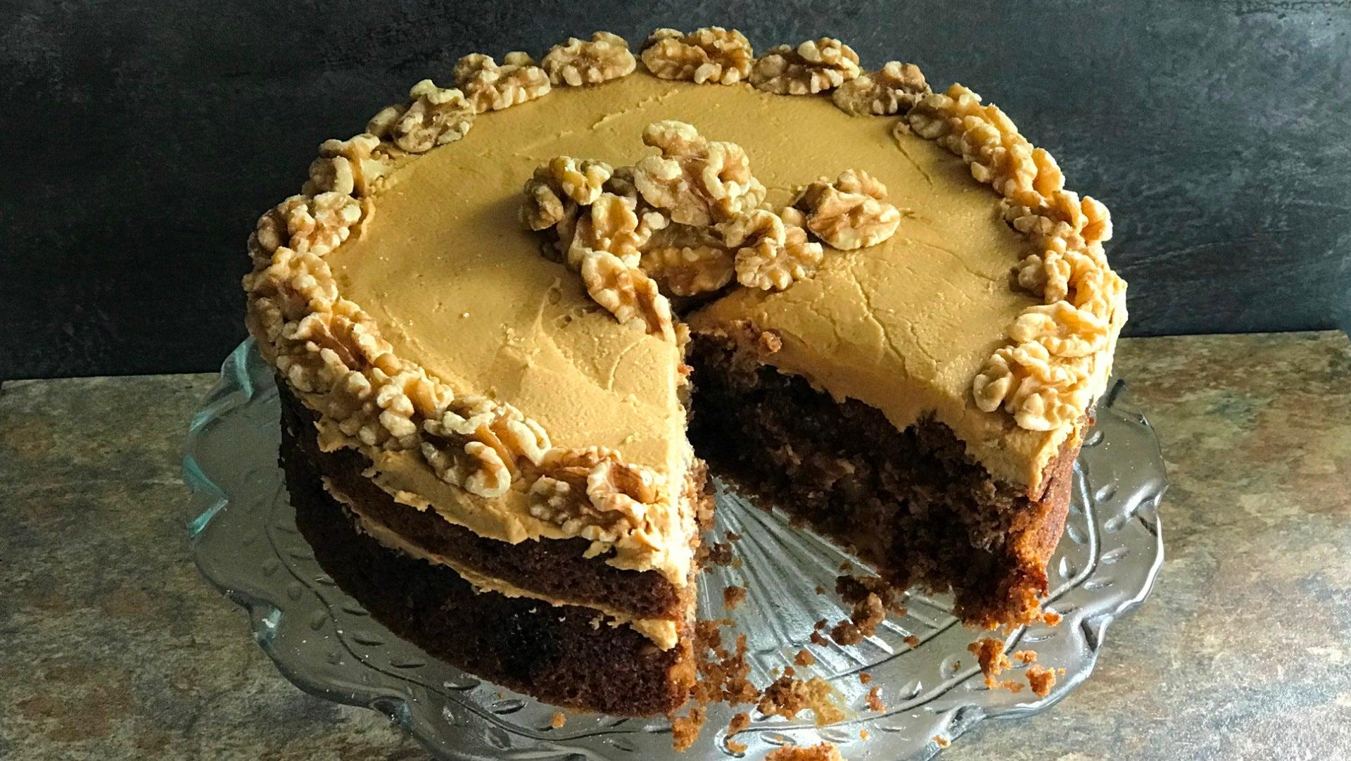 Gluten Free Vegan Coffee Cake