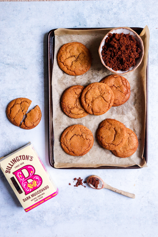 Ginger Brown Sugar Cookies