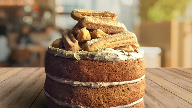 Churros Cake