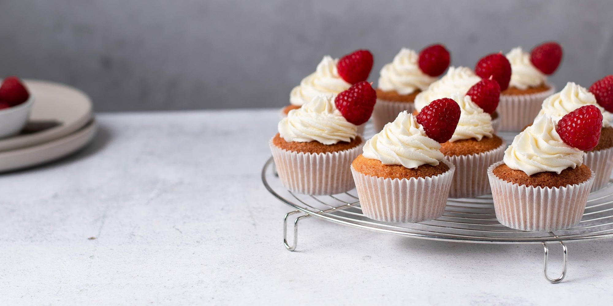 Cosmopolitan Cocktail Cupcakes