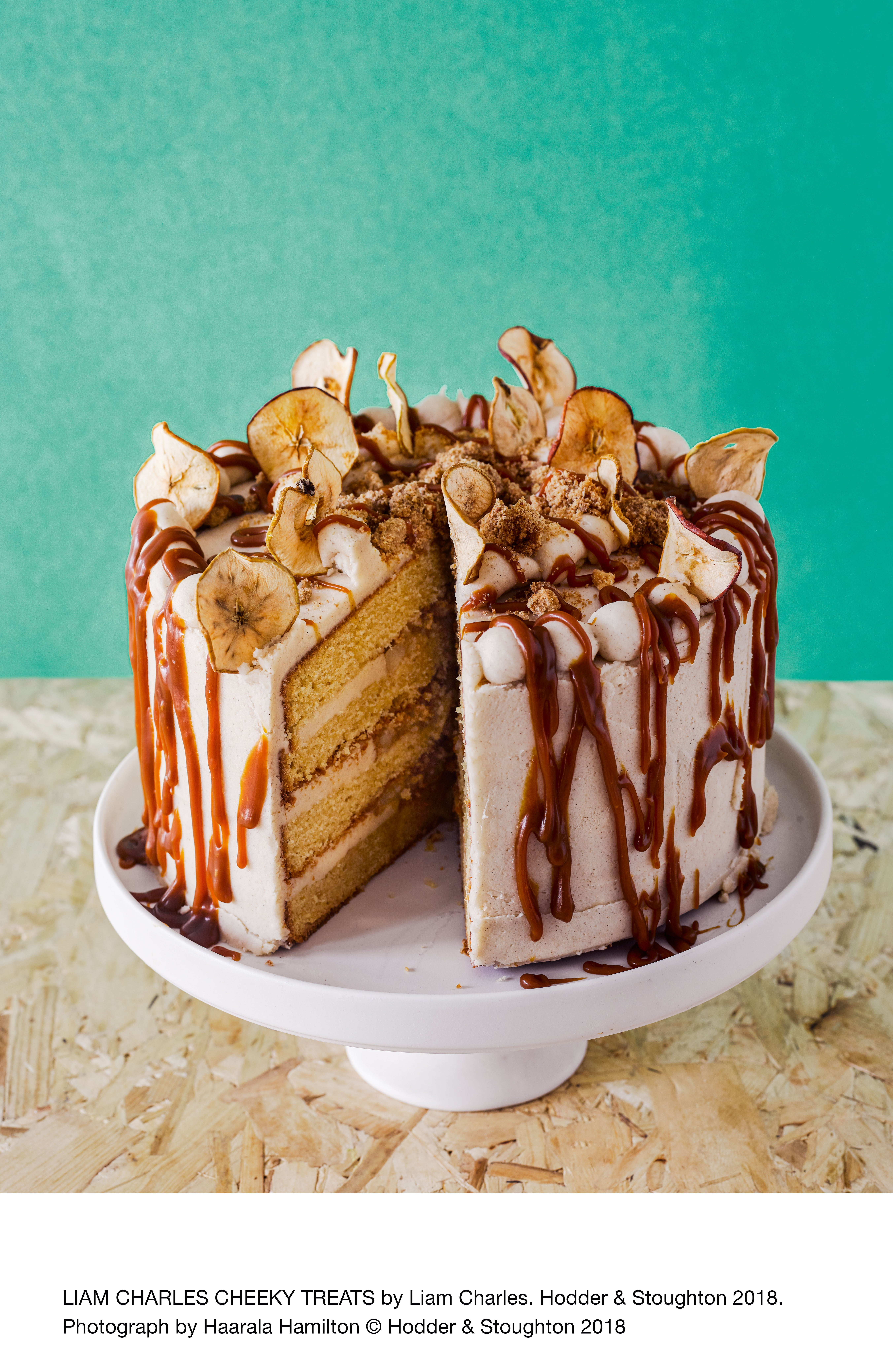 Toffee Apple Crumble Layer Cake