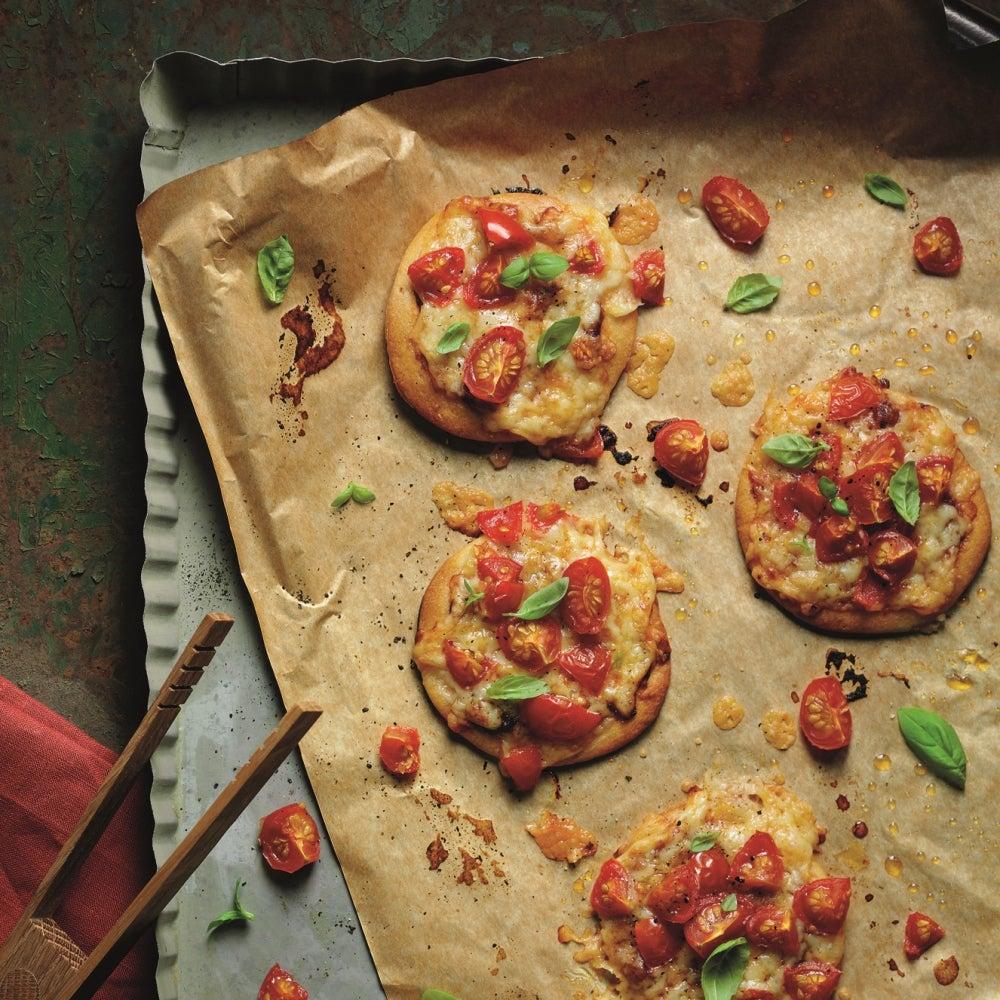 Mini Cheese & Tomato Pizza
