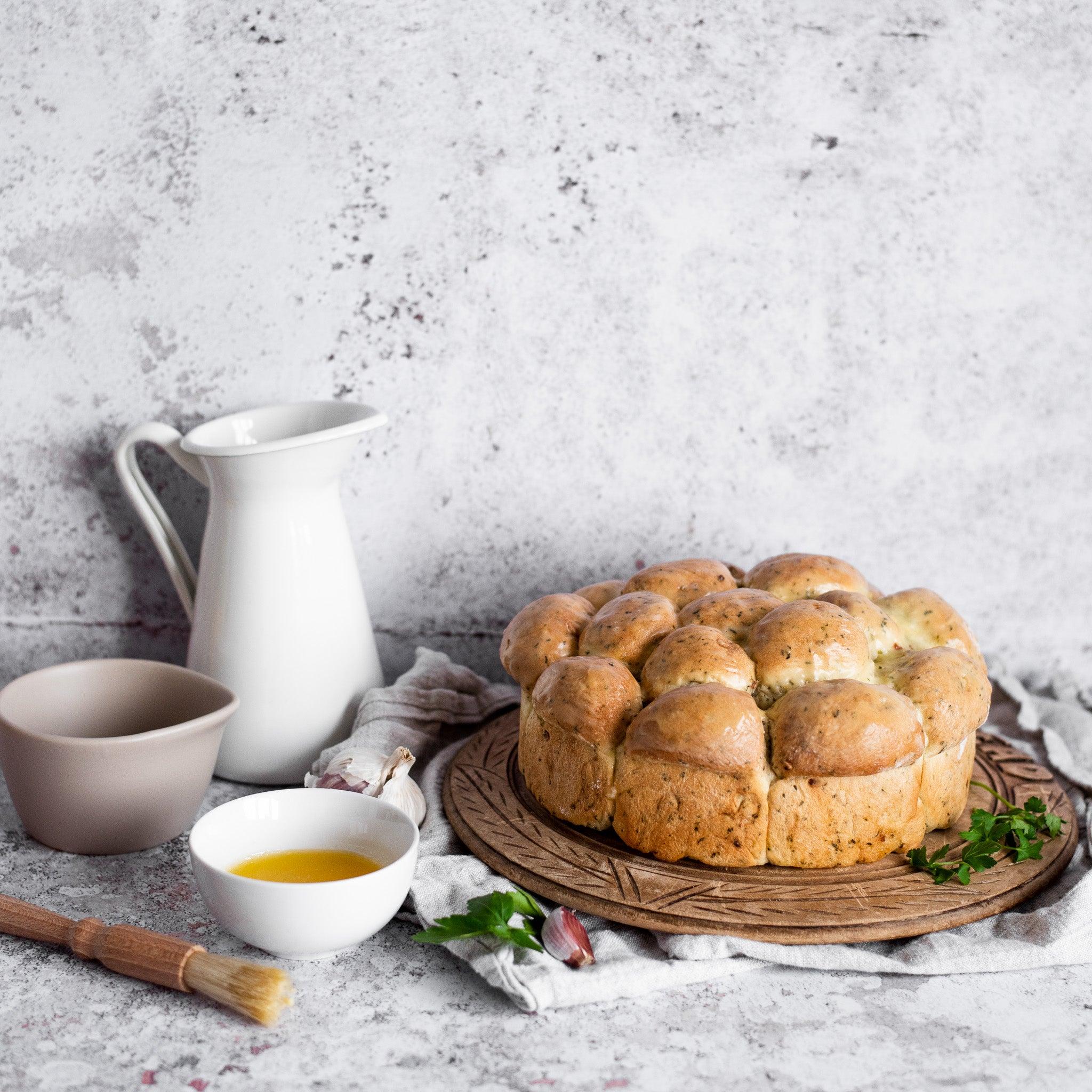 Wild Garlic Tear & Share Bread