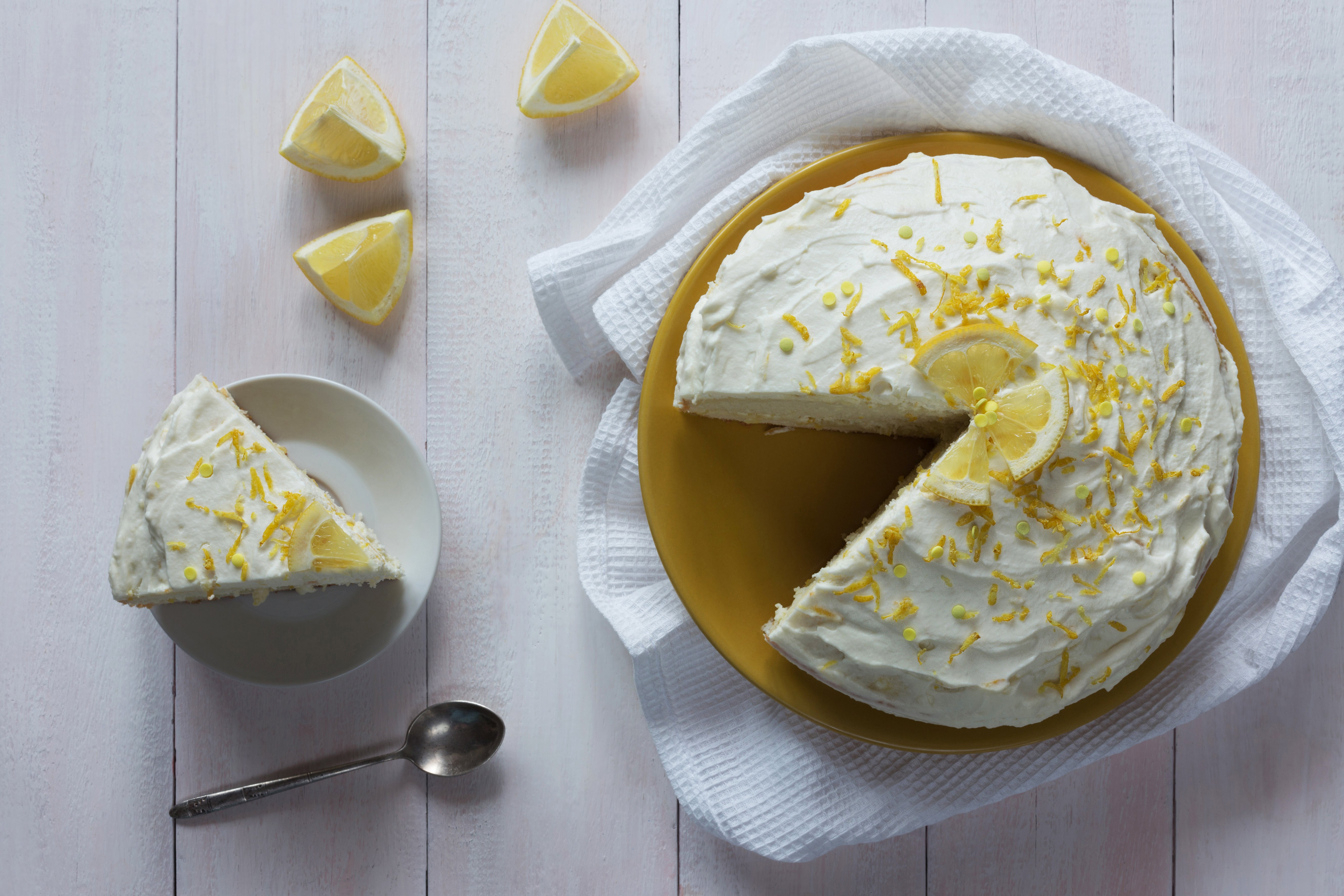Sicilian Lemon Thyme Cake