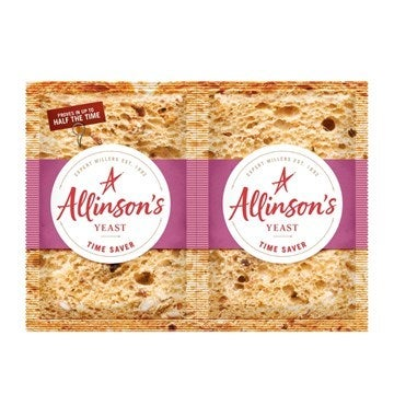Allinson's time saver yeast sachets