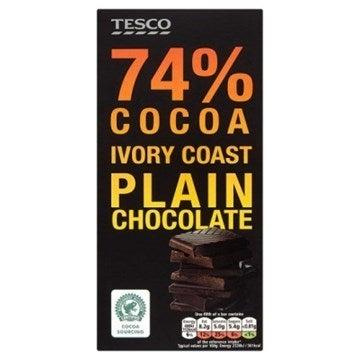 Tesco chocolate bar