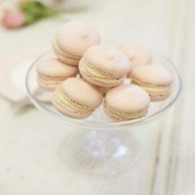 White Chocolate & Rose Water Macaroons
