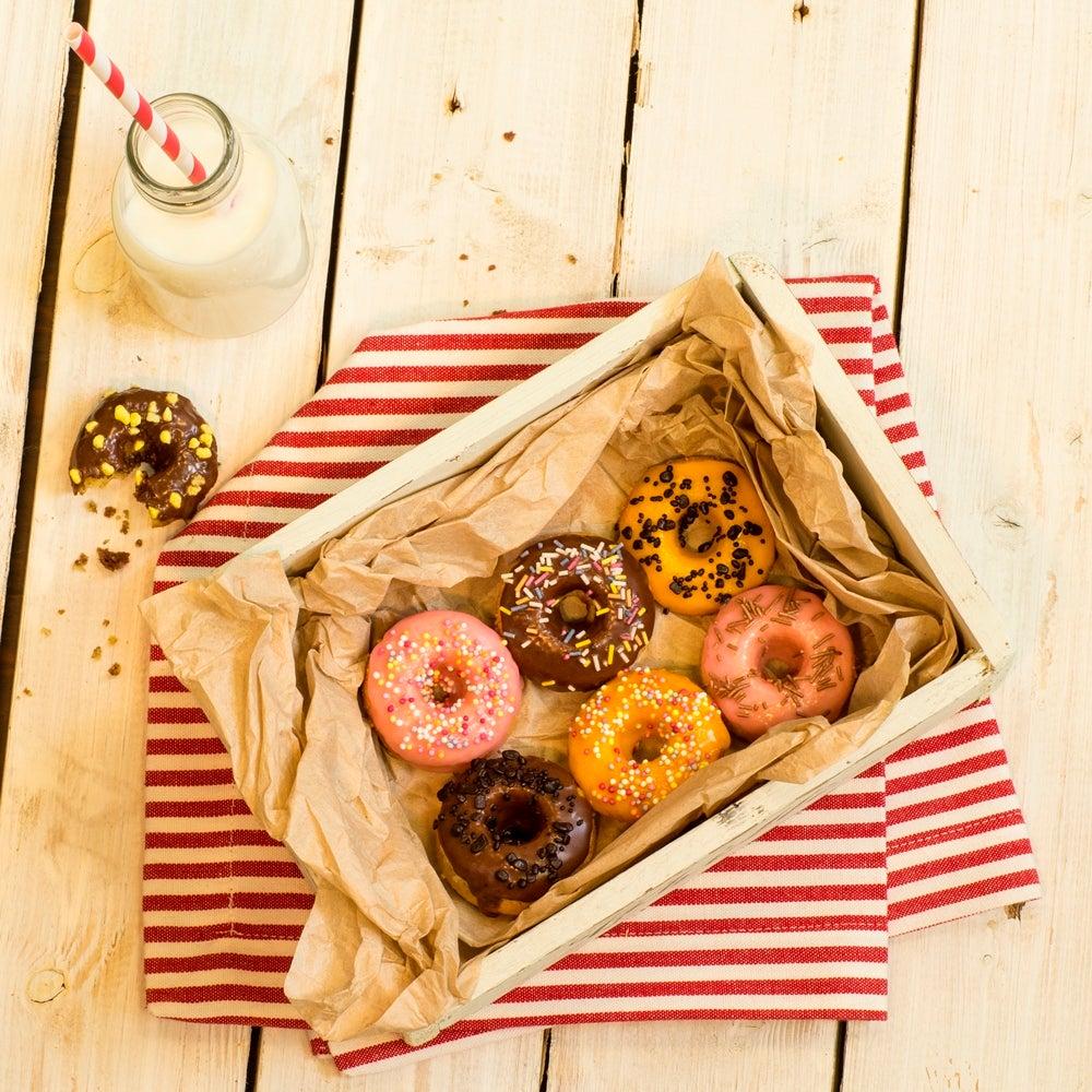 Mini Baked Doughnuts