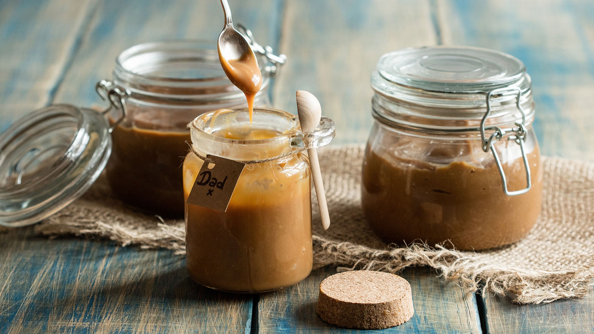 Salted Caramel Sauce Three Ways