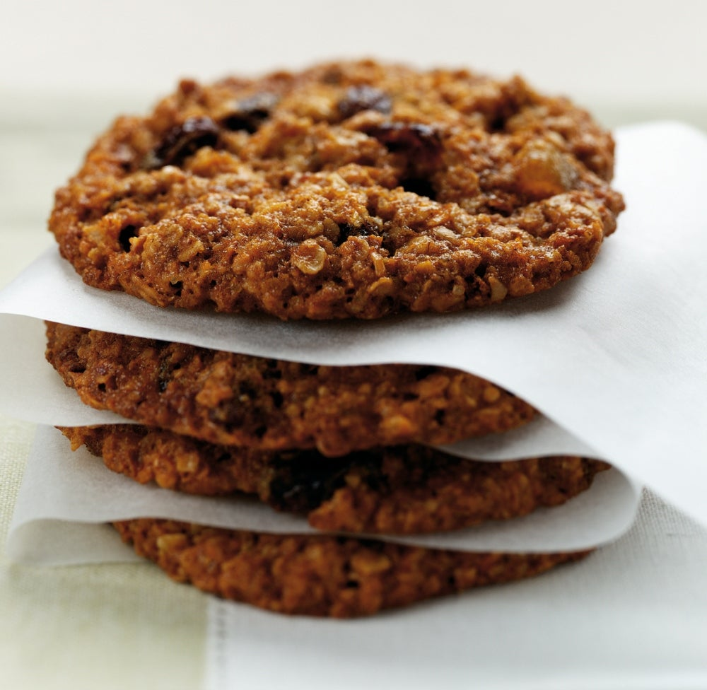 Crunchy Oaty Biscuits