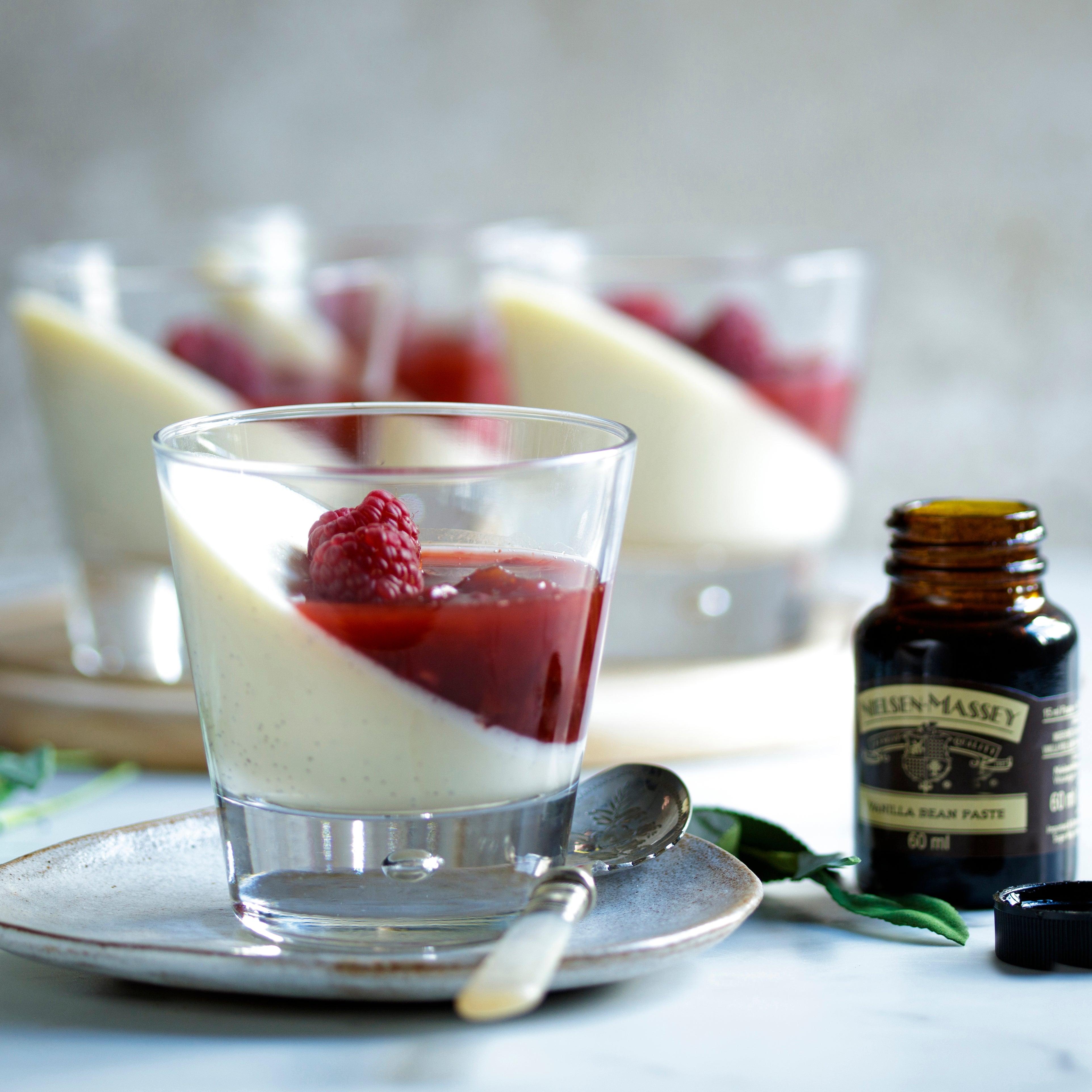 Luxurious Vanilla Bean Panna Cotta
