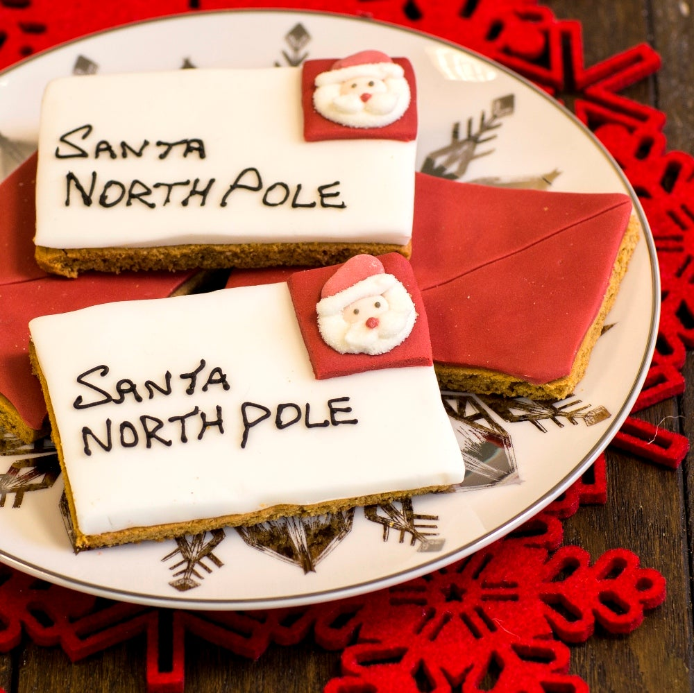 Letters to Santa Biscuits