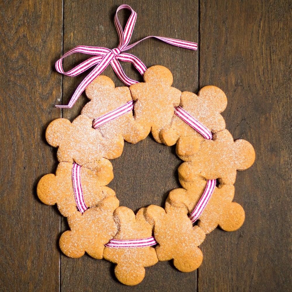 Gingerbread Men Wreath