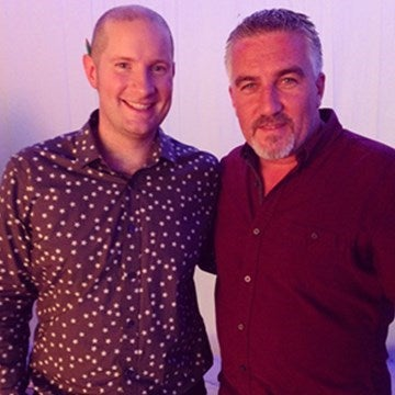 Richard Burr with Paul Hollywood