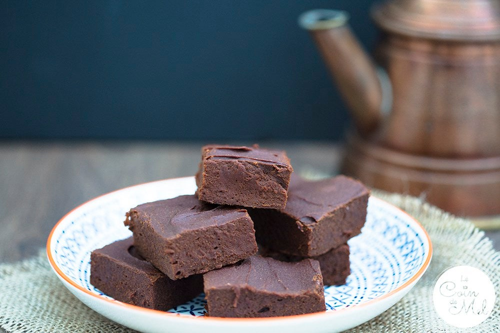 Gluten Free Chocolate Brownies with Peanut Buttercream & Chocolate Truffle Icing
