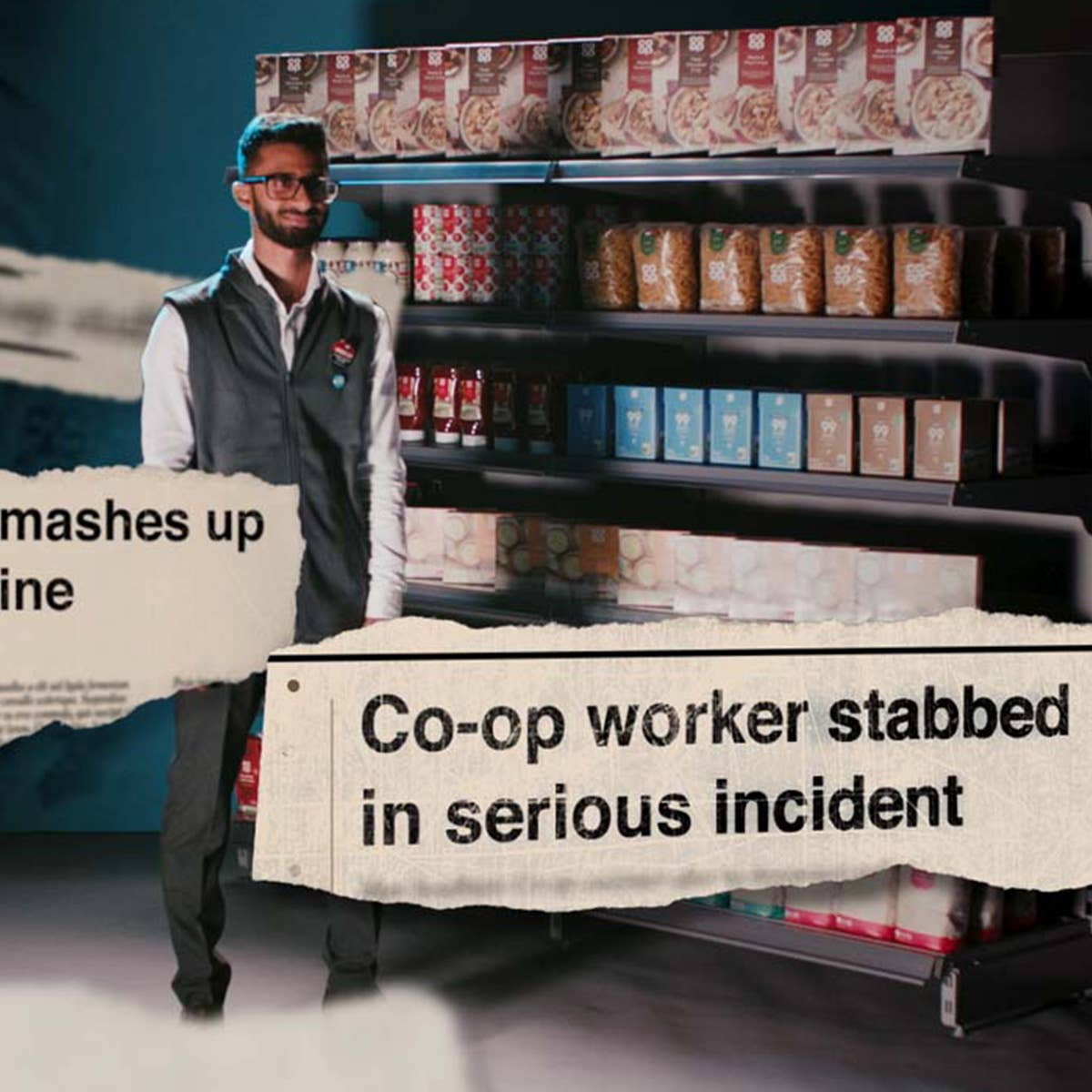 C4 teams up with Co-op for ad break highlighting abuse of shop workers