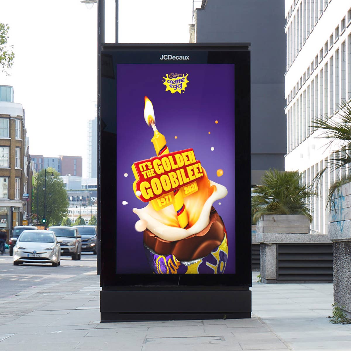 Cadbury Creme Egg celebrates 50th birthday with Golden Goobilee push