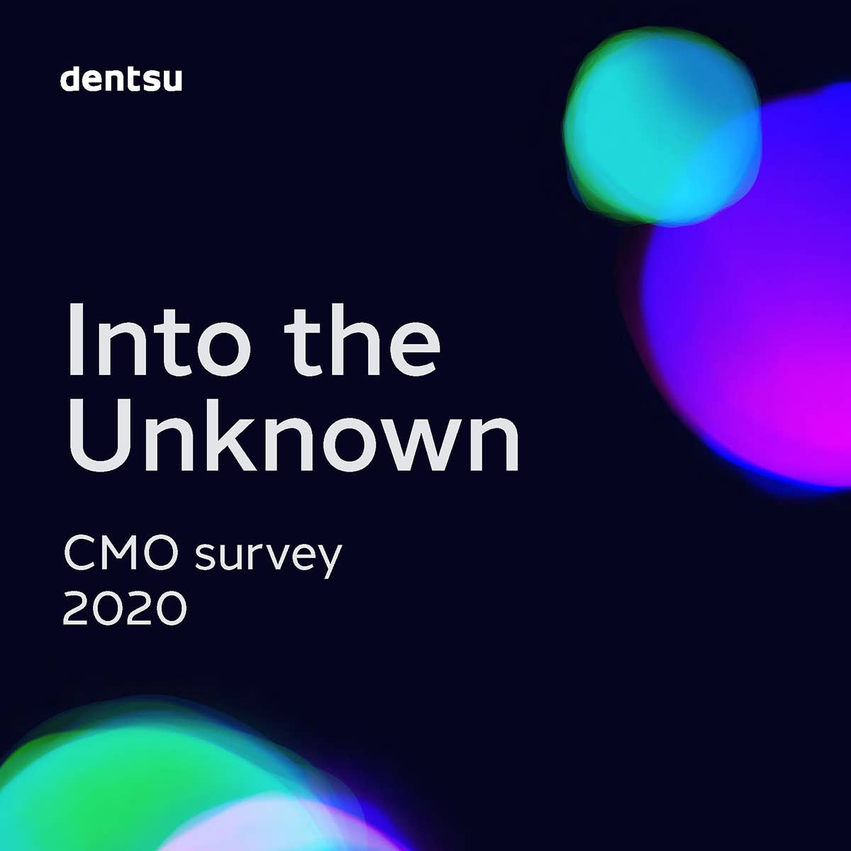dentsu international's CMO Survey 2020