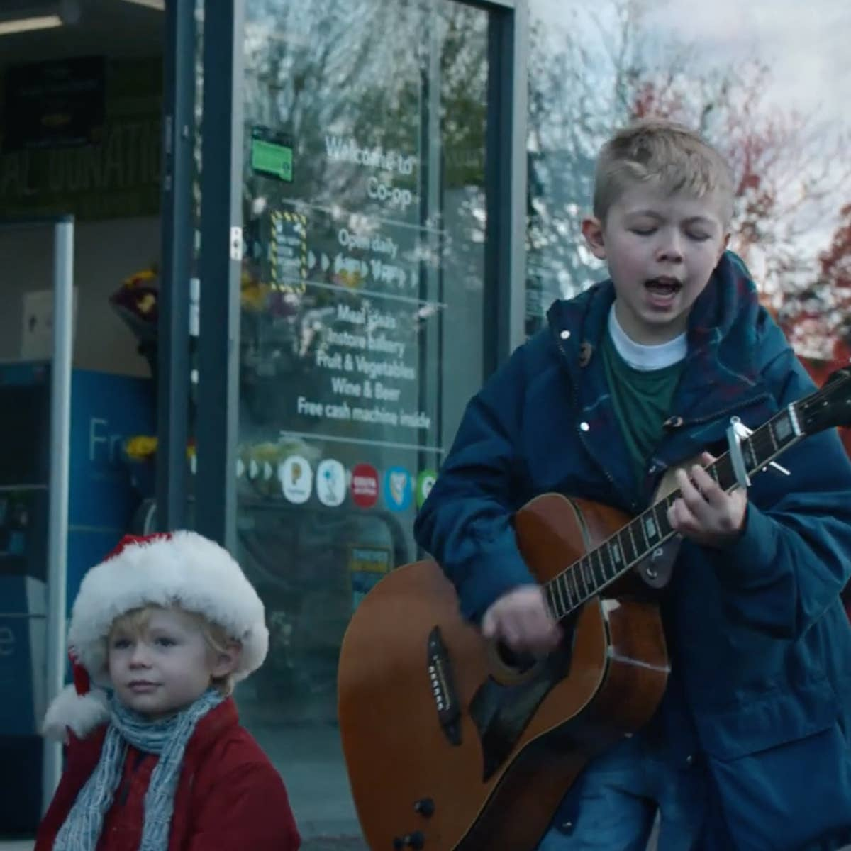Co-op unveils its tearjerking Christmas advert featuring two young brothers singing Oasis cover