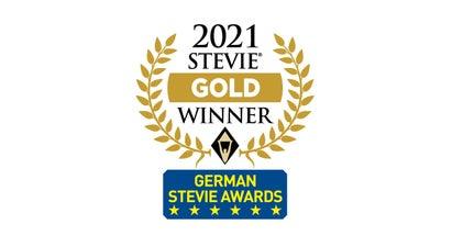 DKMS gewinnt drei Stevie Awards in Gold