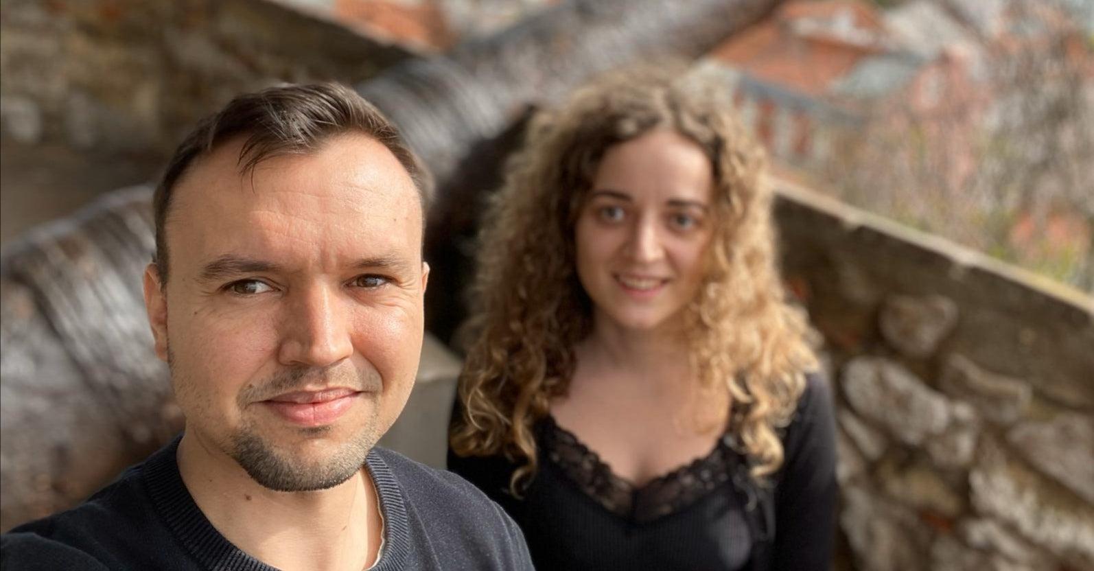 Alexander mit seiner Freundin Jennifer