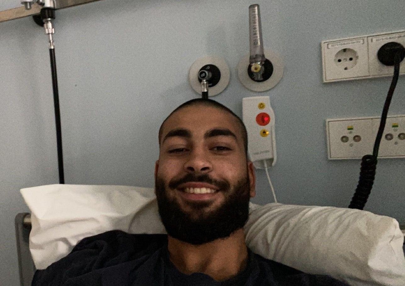 Ali im Krankenhaus