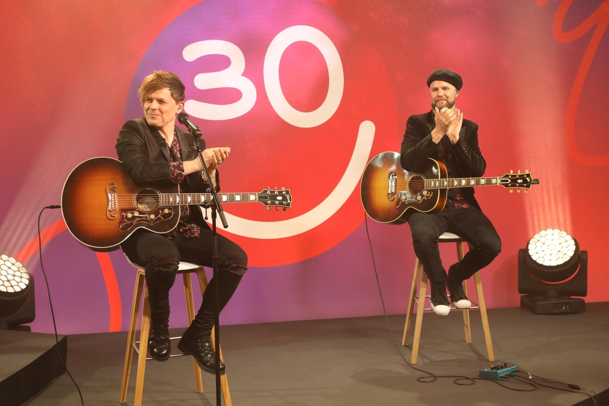 Michael Patrick Kelly unterstützte musikalisch die Jubiläumsfeier