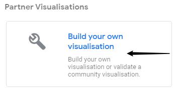 Google data studio build your own visualisation