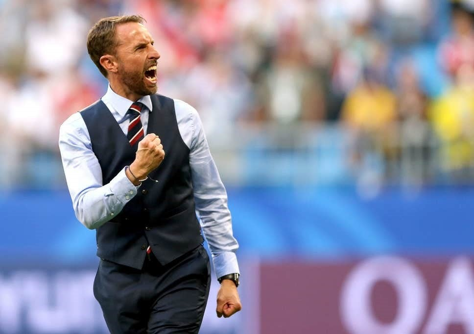 Current England football manager Gareth Southgate