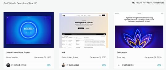 image of webpages AngularJS have developed