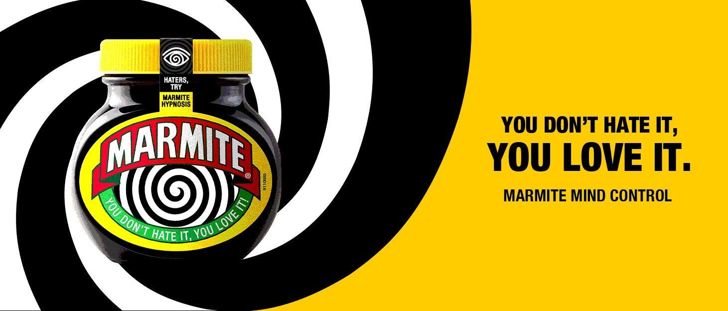 marmite love or hate campaign