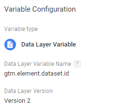 gtm data layer variable