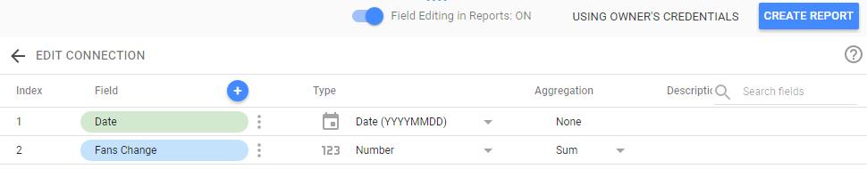 data studio conform data types