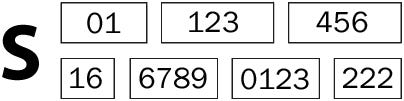 Here's what an MPAN number looks like as 21 digit number split into 7 sections and beginning with S