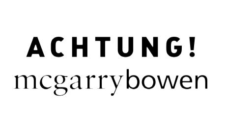 Achtung mcgarrybowen Logo