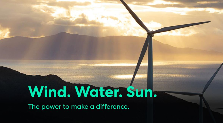 Wind, water and sun – three words to save the world