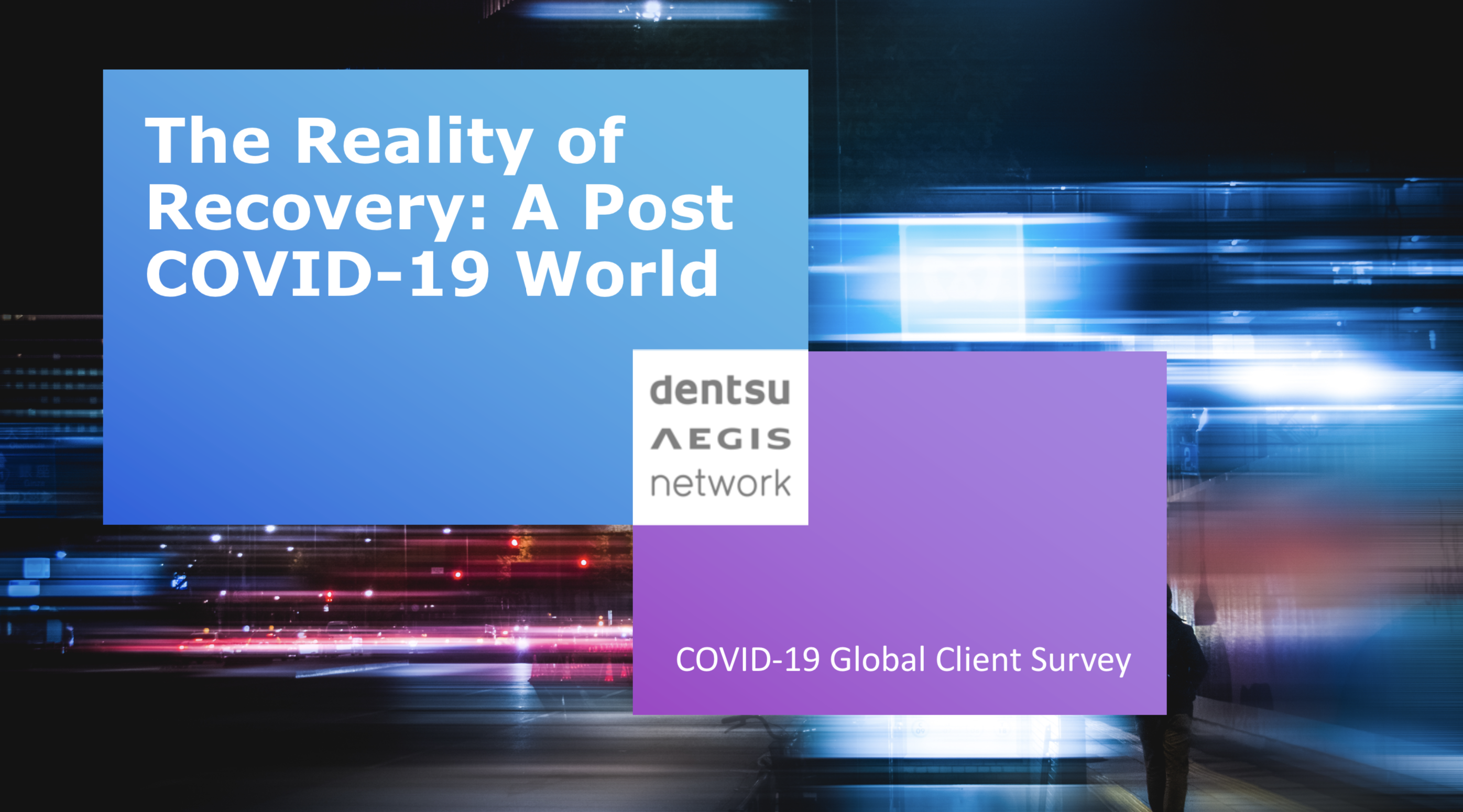 COVID-19 Global Client Survey iProspect