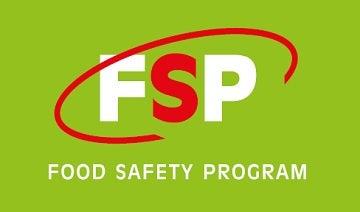 Food Safety Program logo on green