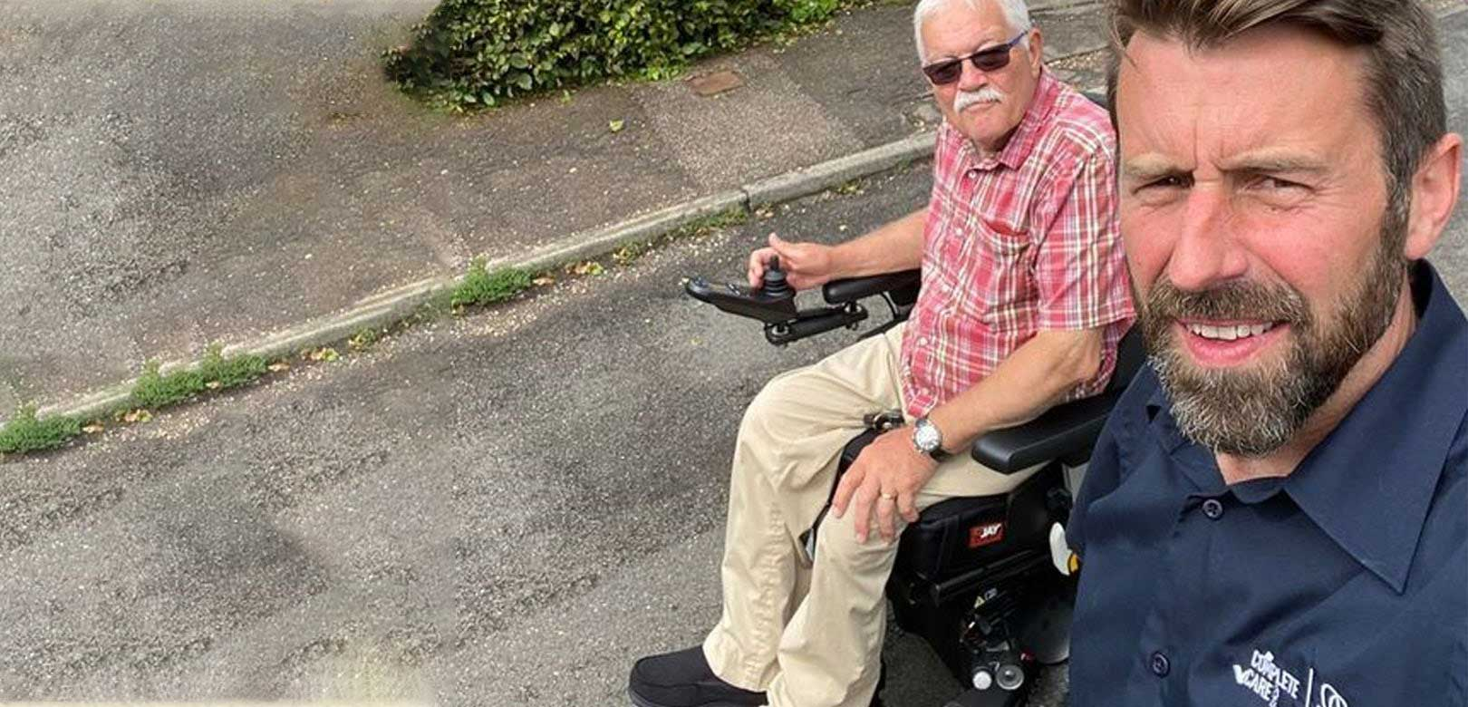 A day in the life of a wheelchair specialist