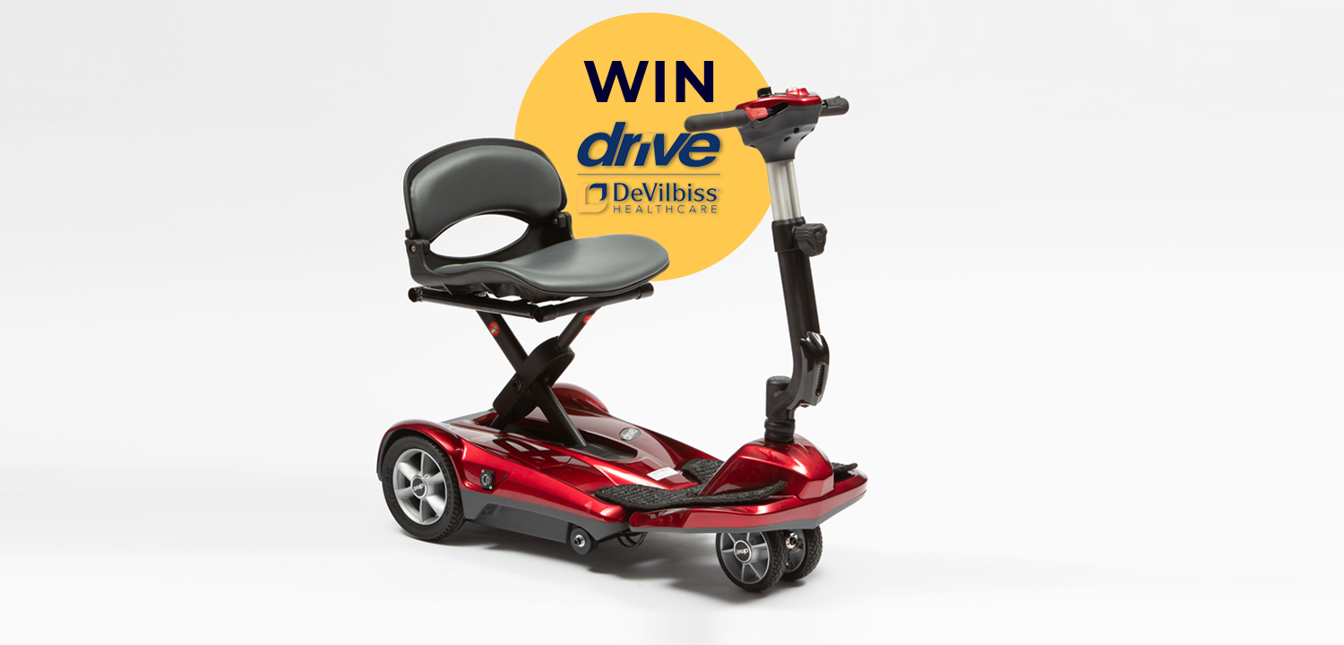 Drive Dual Wheel Auto Folding Scooter: giveaway closes 4th July 2021