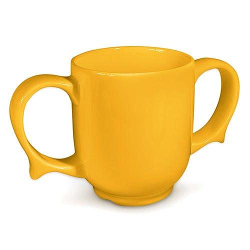 Two handled mugs