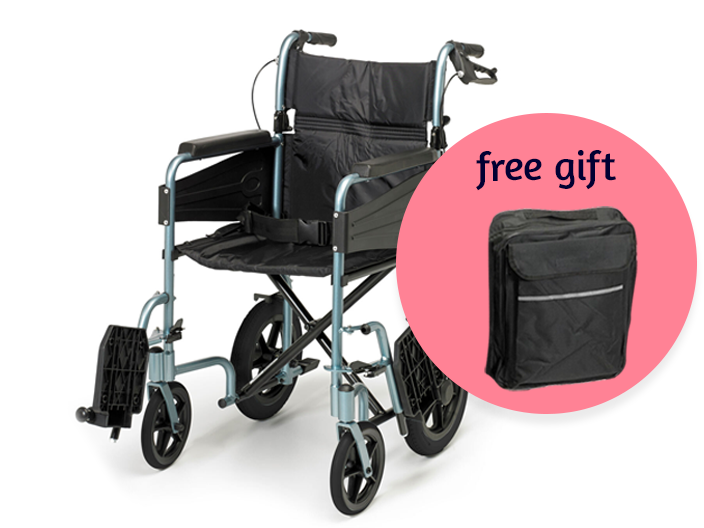 Get a free wheelchair bag worth £29.99